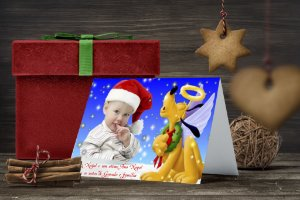 Cartão de Natal Personalizado Impresso 072
