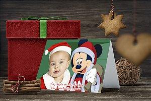 Cartão de Natal Personalizado Impresso 074