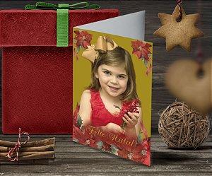 Cartão de Natal Personalizado Impresso 099