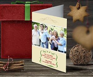 Cartão de Natal Personalizado Impresso 097