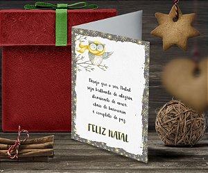 Cartão de Natal Personalizado Impresso 093
