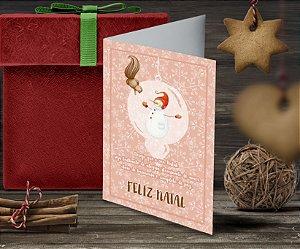 Cartão de Natal Personalizado Impresso 092