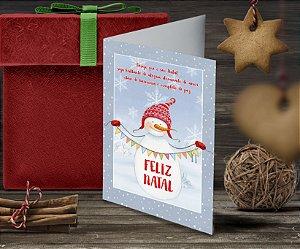 Cartão de Natal Personalizado Impresso 091