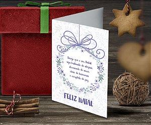 Cartão de Natal Personalizado Impresso 088