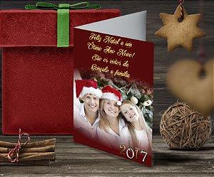 Cartão de Natal Personalizado Impresso 085