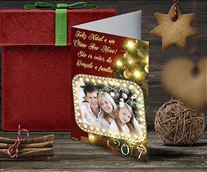Cartão de Natal Personalizado Impresso 084