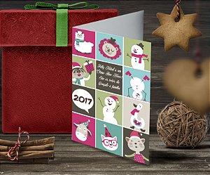 Cartão de Natal Personalizado Impresso 082