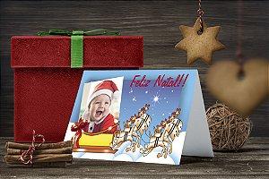 Cartão de Natal Personalizado Impresso 081