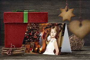 Cartão de Natal Personalizado Impresso 077