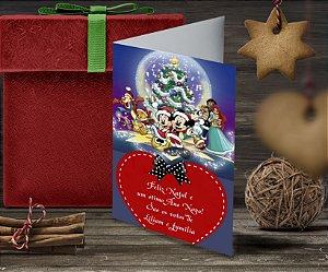 Cartão de Natal Personalizado Impresso 122