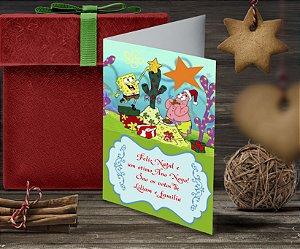 Cartão de Natal Personalizado Impresso 113