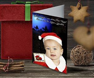Cartão de Natal Personalizado Impresso 110