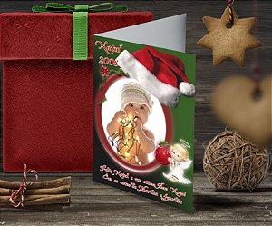 Cartão de Natal Personalizado Impresso 107