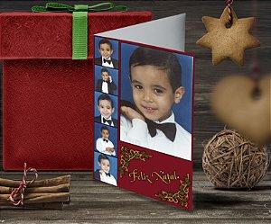 Cartão de Natal Personalizado Impresso 103