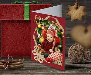 Cartão de Natal Personalizado Impresso 101