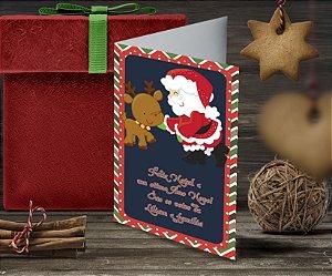 Cartão de Natal Personalizado Impresso 148