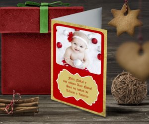Cartão de Natal Personalizado Impresso 147