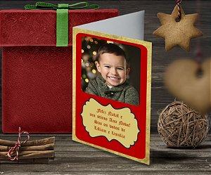 Cartão de Natal Personalizado Impresso 146