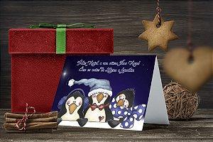 Cartão de Natal Personalizado Impresso 144