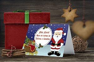 Cartão de Natal Personalizado Impresso 140