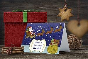 Cartão de Natal Personalizado Impresso 139