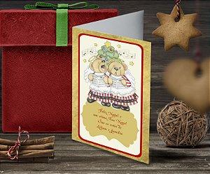 Cartão de Natal Personalizado Impresso 134