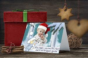 Cartão de Natal Personalizado Impresso 133
