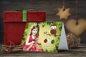 Cartão de Natal Personalizado Impresso 131