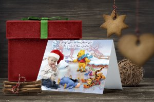 Cartão de Natal Personalizado Impresso 129