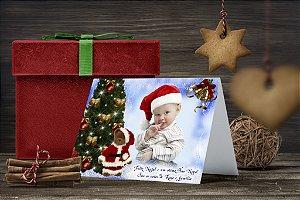 Cartão de Natal Personalizado Impresso 127