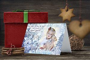 Cartão de Natal Personalizado Impresso 126