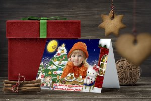 Cartão de Natal Personalizado Impresso 175