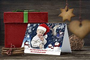 Cartão de Natal Personalizado Impresso 172