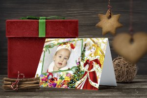 Cartão de Natal Personalizado Impresso 169