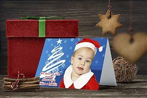 Cartão de Natal Personalizado Impresso 162