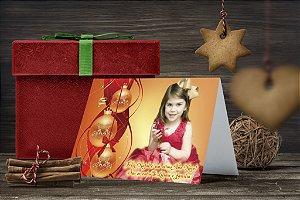 Cartão de Natal Personalizado Impresso 161
