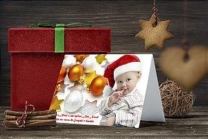 Cartão de Natal Personalizado Impresso 159