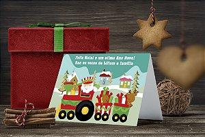 Cartão de Natal Personalizado Impresso 151