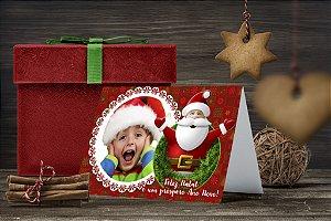 Cartão de Natal Personalizado Impresso 211