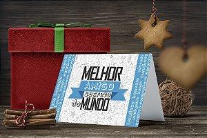 Cartão de Natal Personalizado Impresso 207