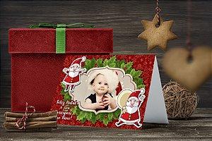 Cartão de Natal Personalizado Impresso 196