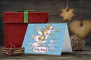 Cartão de Natal Personalizado Impresso 194