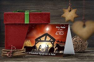Cartão de Natal Personalizado Impresso 190