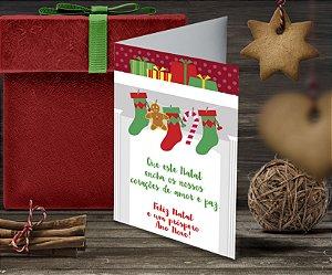 Cartão de Natal Personalizado Impresso 189