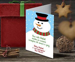 Cartão de Natal Personalizado Impresso 188