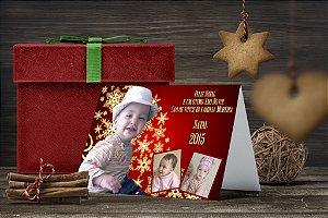 Cartão de Natal Personalizado Impresso 187