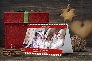 Cartão de Natal Personalizado Impresso 186
