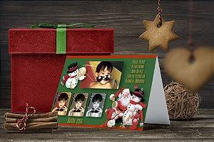 Cartão de Natal Personalizado Impresso 185