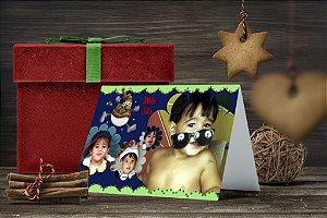 Cartão de Natal Personalizado Impresso 183