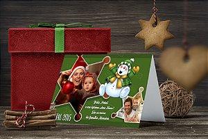 Cartão de Natal Personalizado Impresso 182